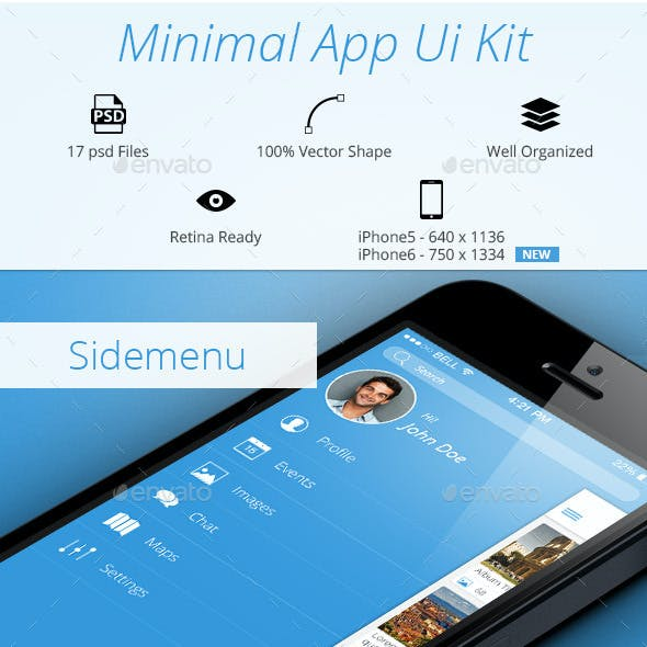 Minimal App UI Kit