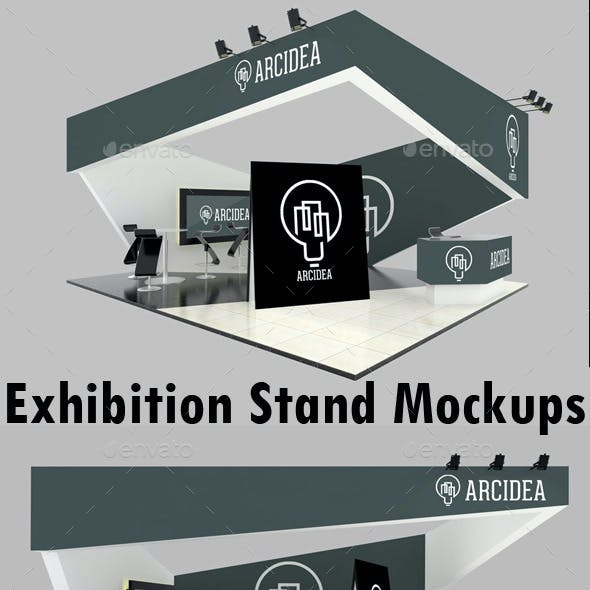 Exhibition Stand Mockups