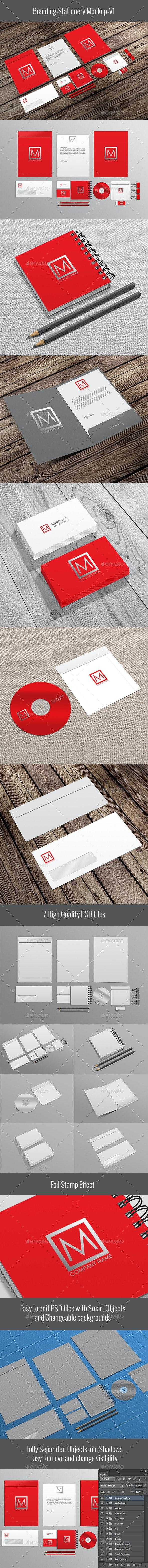Branding-Stationery Mockup - Stationery Print