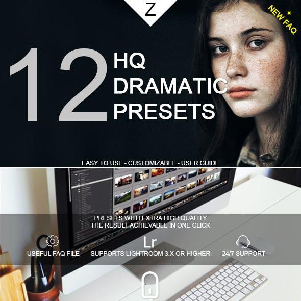 12 HQ Dramatic Presets