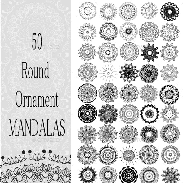 Set of 50 Ornaments