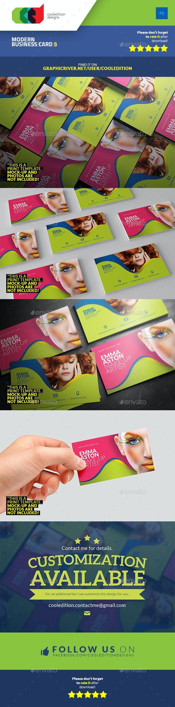 Modern Business Card 5 - Creative Business Cards