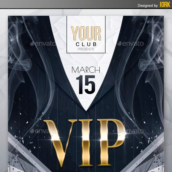 VIP Night Party Flyer