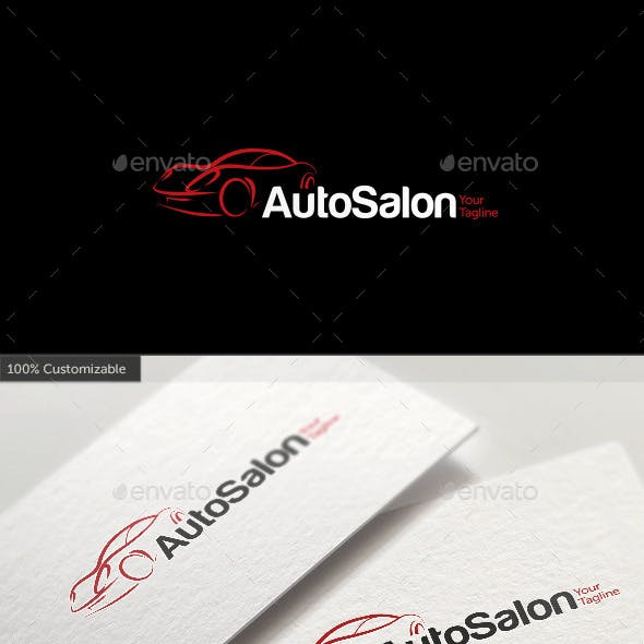 Car Auto Salon Logo