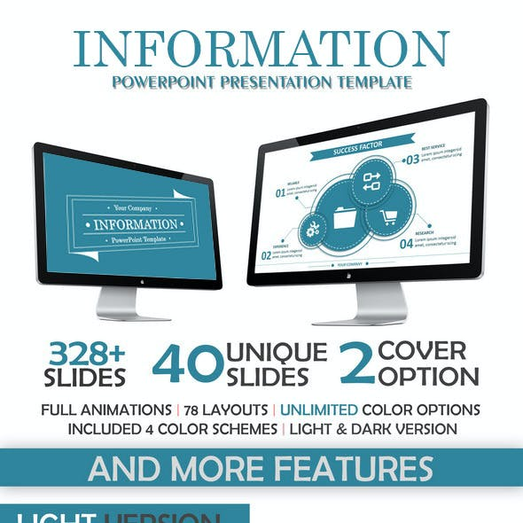 Information PowerPoint Template