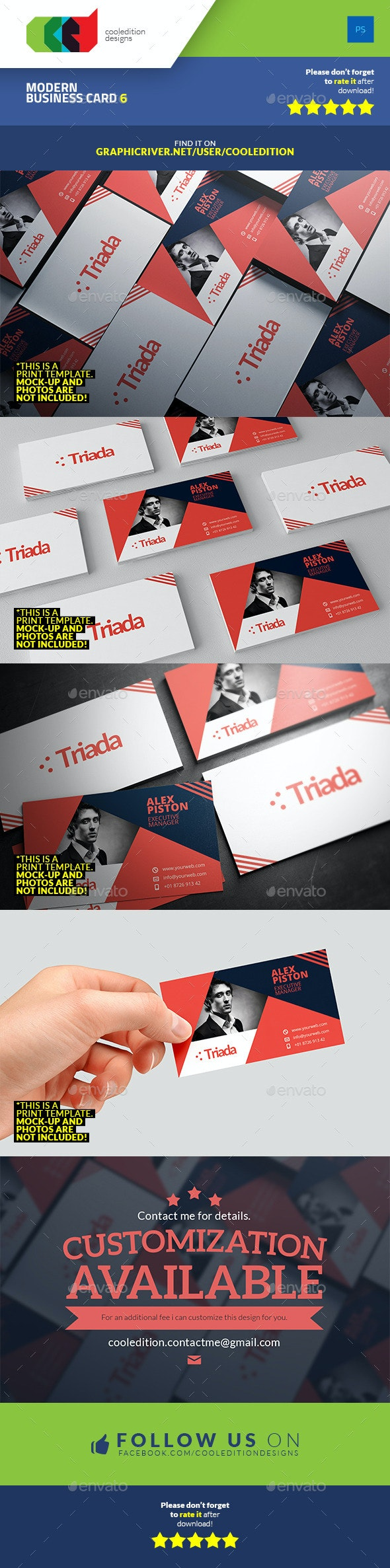 Modern Business Card 6 - Corporate Business Cards