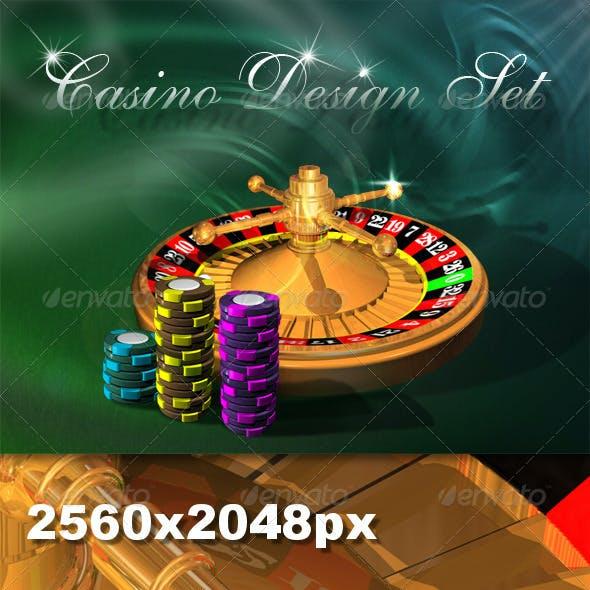 Casino Design Set