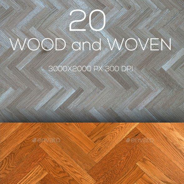 20 Wood Texture V.11