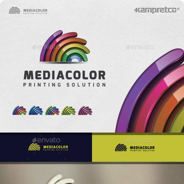 Media Colorful Logo