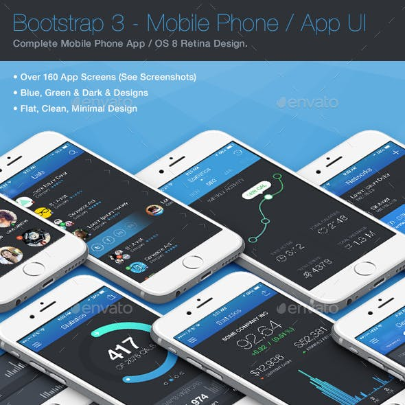 Strapped App / Phone / Mobile UI 3