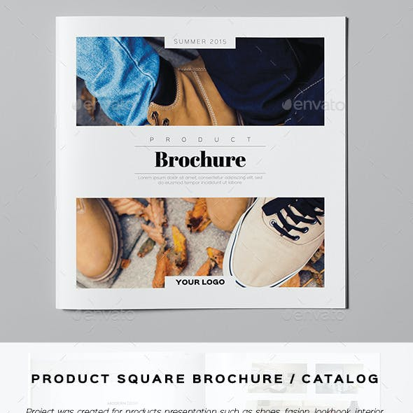 Product Square Brochure / Catalog