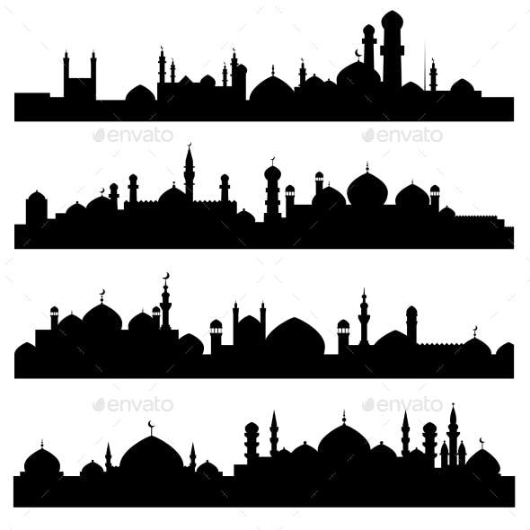 Islamic or Arabic Cityscape