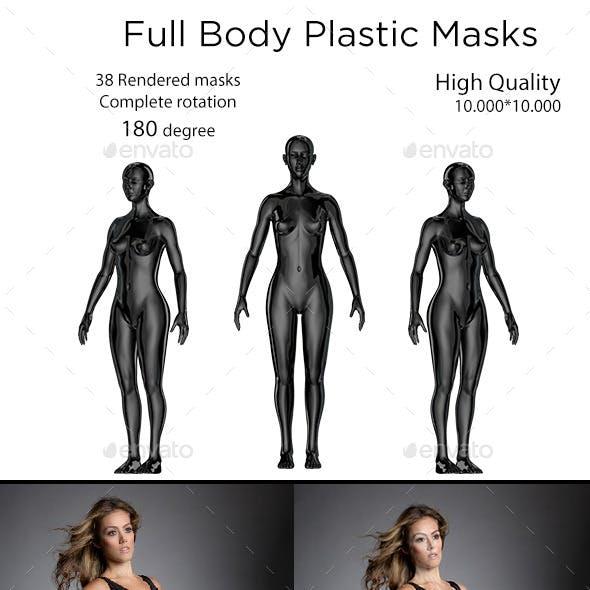 Full Body Plastic Mask