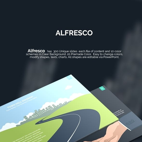 Alfresco - Complete Powerpoint Template