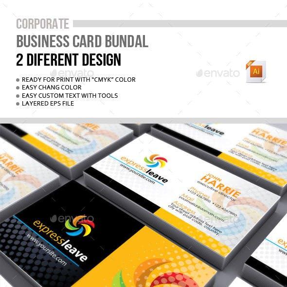Corporate Business card Bundal