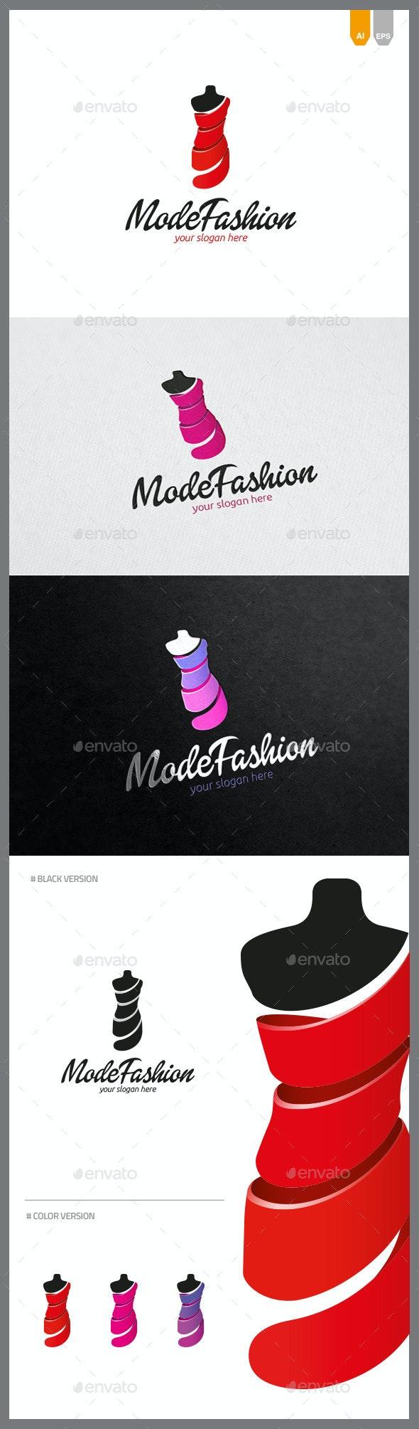 Mode Fashion Logo - Objects Logo Templates