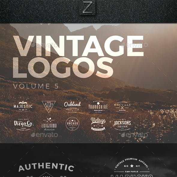 Vintage Logos Set 5