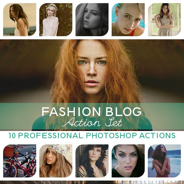 10 PRO Photoshop Actions Vol.I