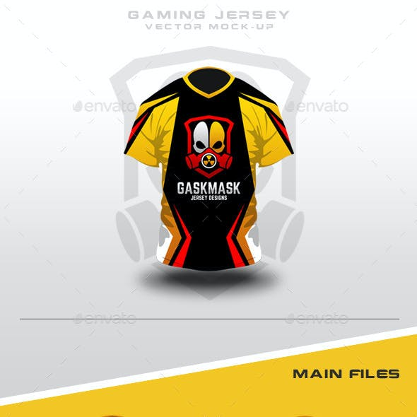 Gaming Jersey Mock-Up