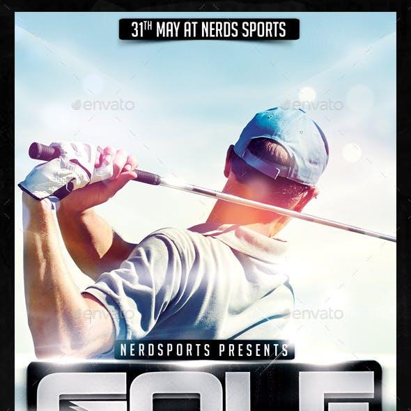 Golf Tournament Sports Flyer