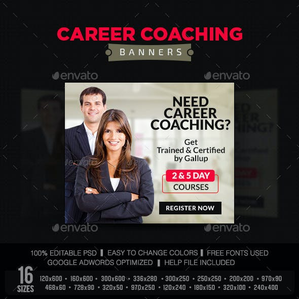 Career Coach Graphics Designs Templates From Graphicriver