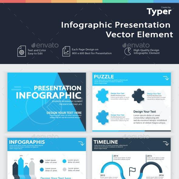 Infographic Presentation Vector Element