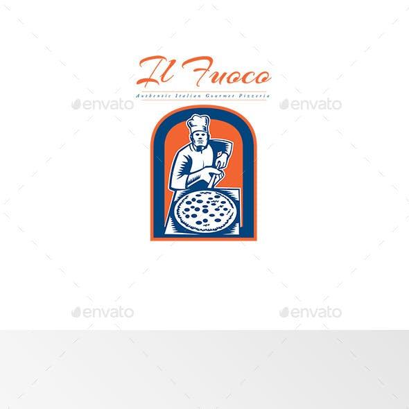 Il Fuoco Gourmet Pizza Logo