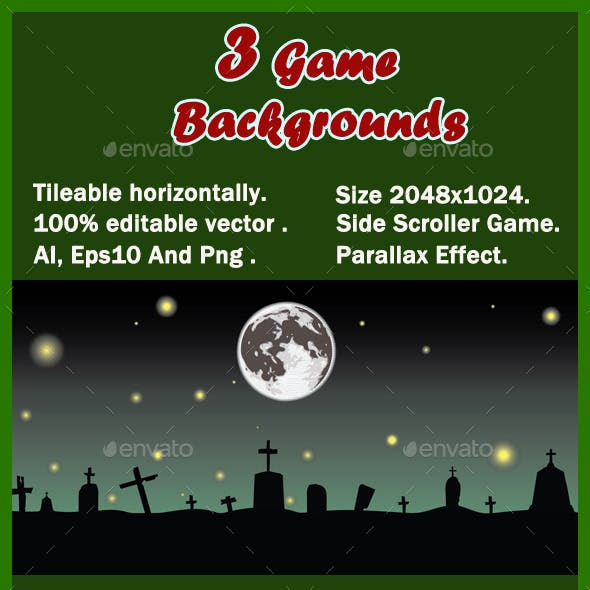 3 Game Backgrounds