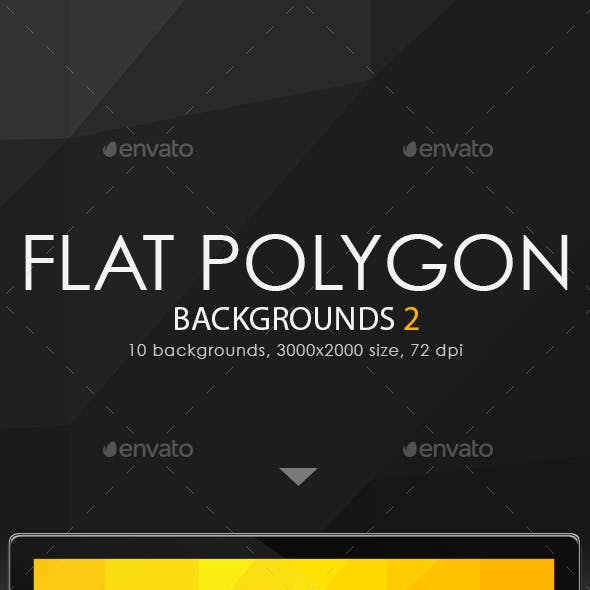 Flat Polygon Backgrounds 2