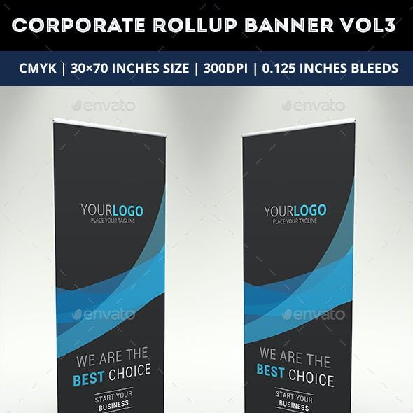 Corporate Rollup Banner Vol 3