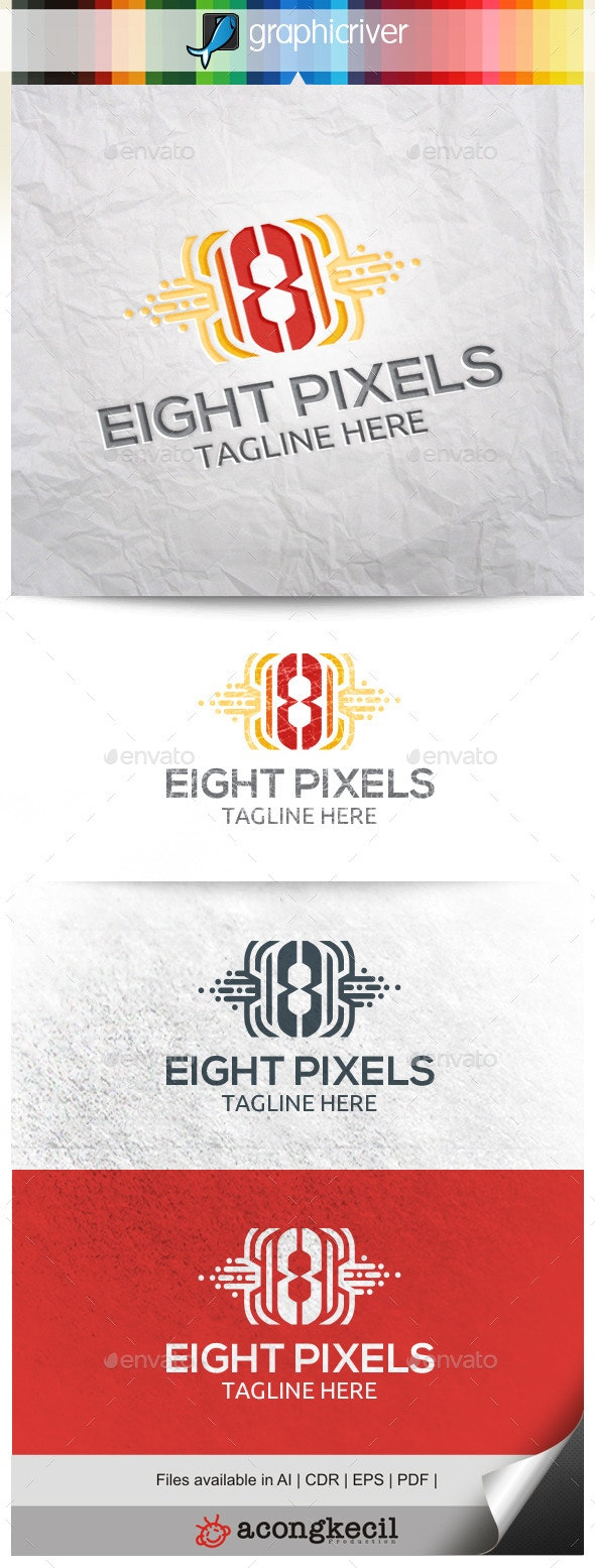 Number Pixels 8