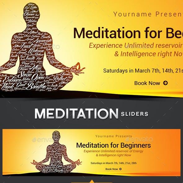 Meditation Slider