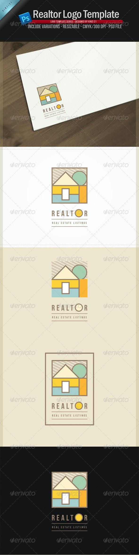 Realtor Logo Template - Buildings Logo Templates