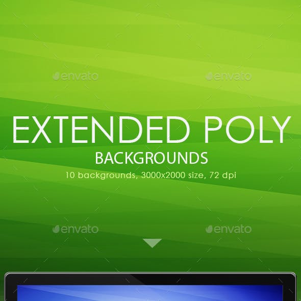 Extended Polygon Backgrounds