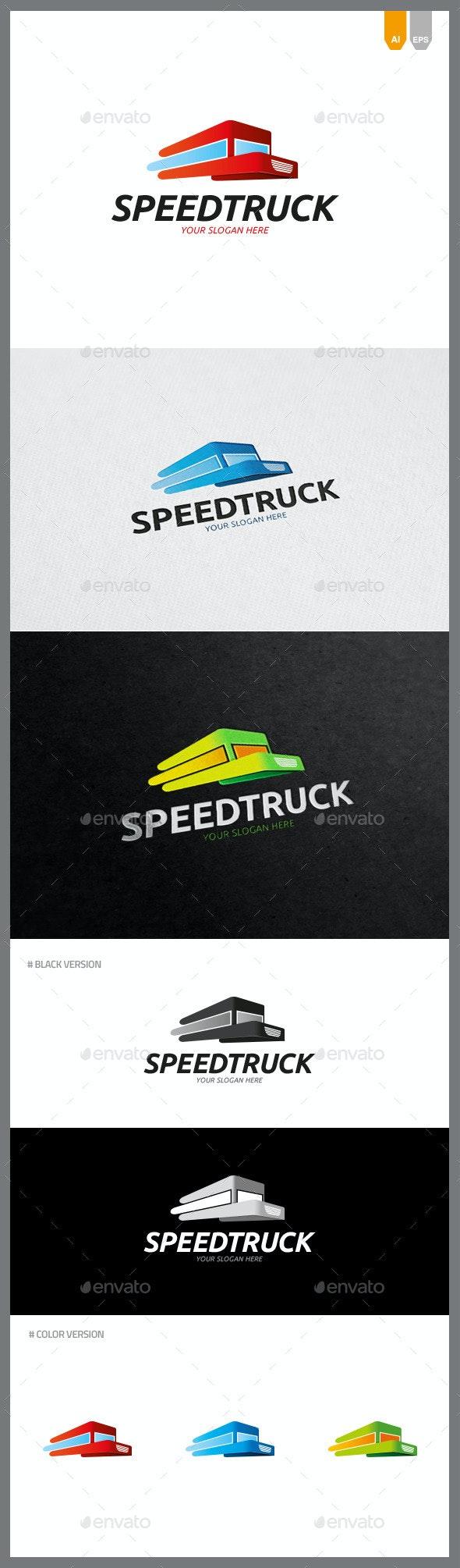 Speed Truck Logo - Objects Logo Templates