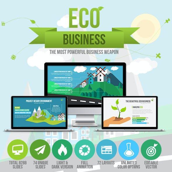 Eco Business Presentation Template