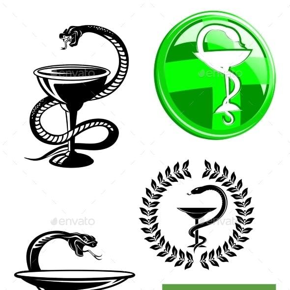 Medicine and Pharmacy Icons