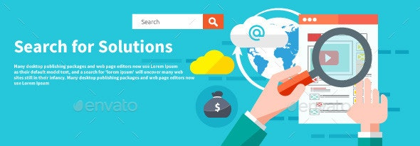 Search for Solutions - Web Technology