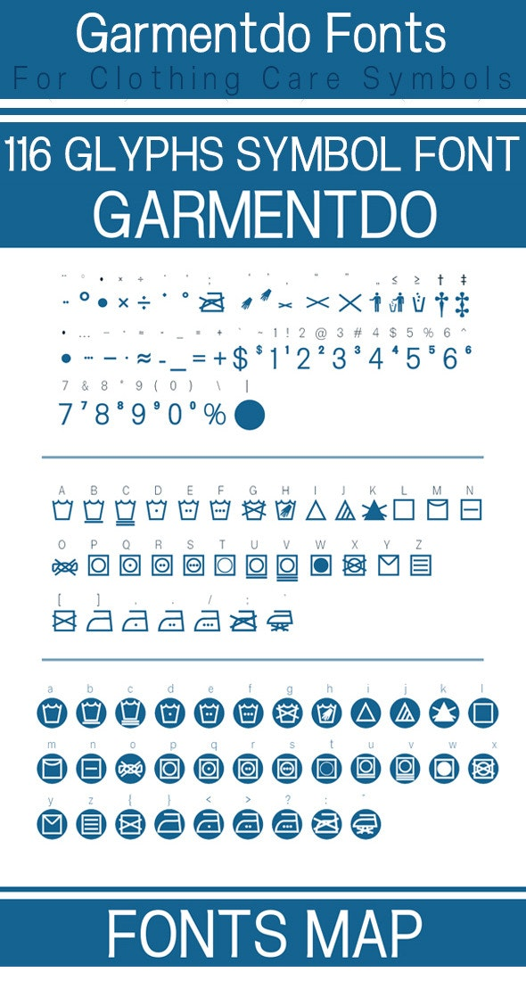 Garmentdo - Ding-bats Fonts