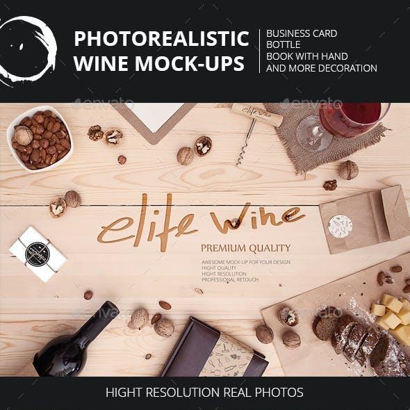 Wine Themes Mock-Ups