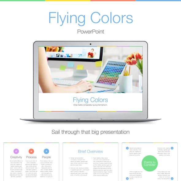 Flying Colors PowerPoint Template