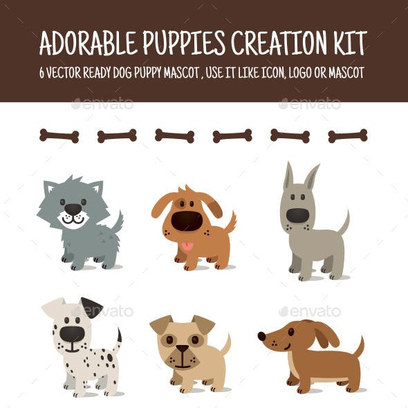 Adorable Puppy Creation Kit