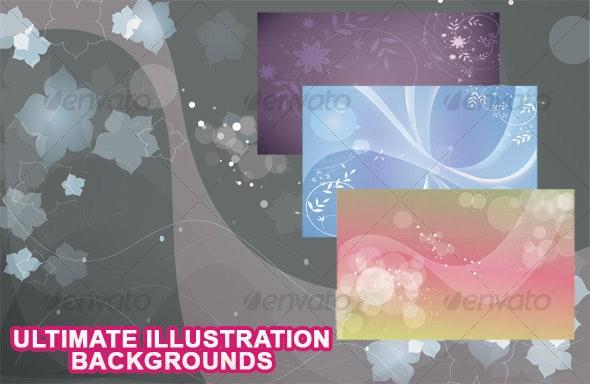 Florry Backgrounds - Flourishes / Swirls Decorative