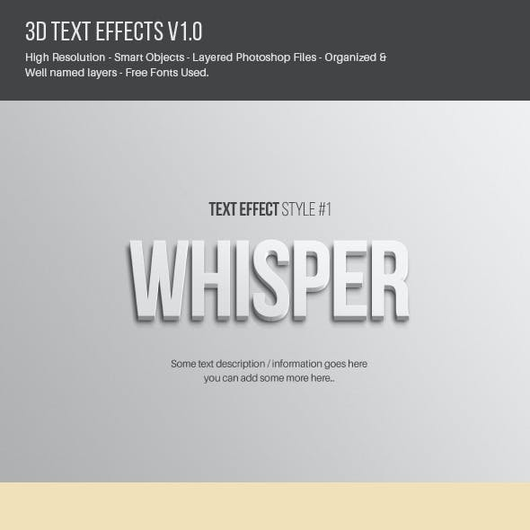 Text Effects V1.0