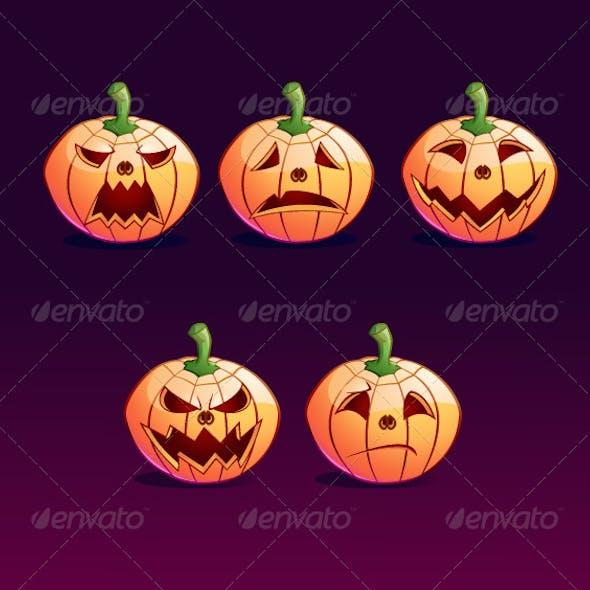 Jack o Lantern Emoticon