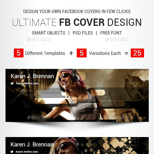 Ultimate Facebook Cover Design Template