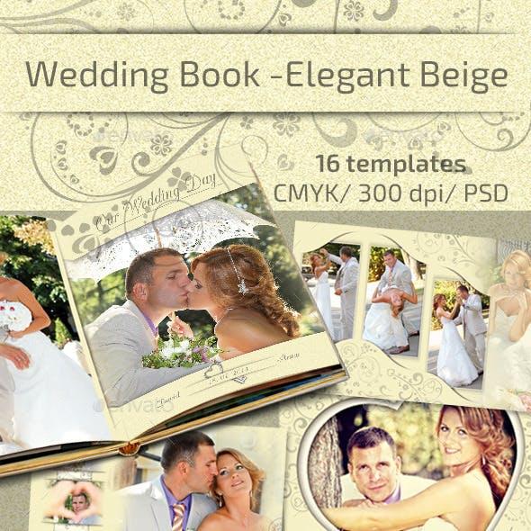 Wedding Book - Elegant Beige