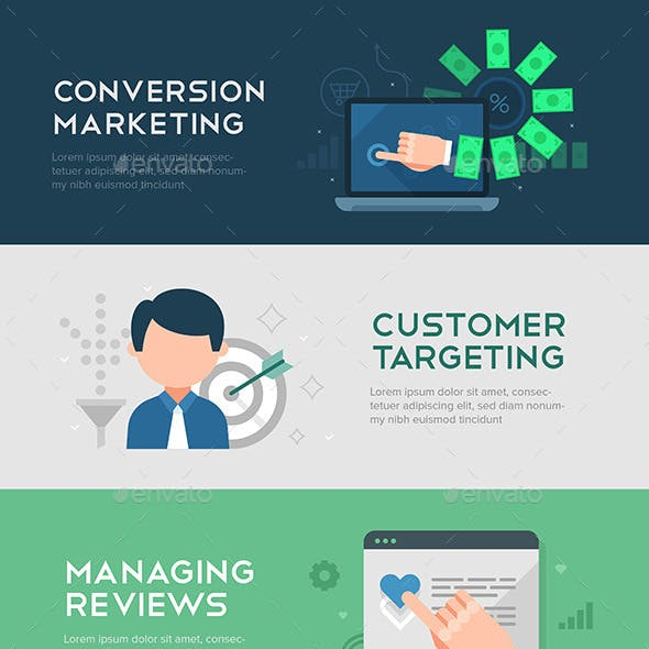 Conversion Marketing Banners