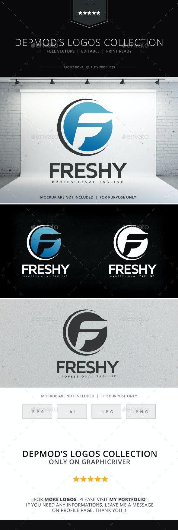 Freshy Logo - Letters Logo Templates