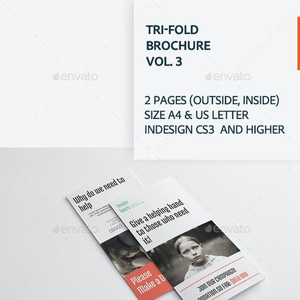 Tri-fold Brochure Vol. 3